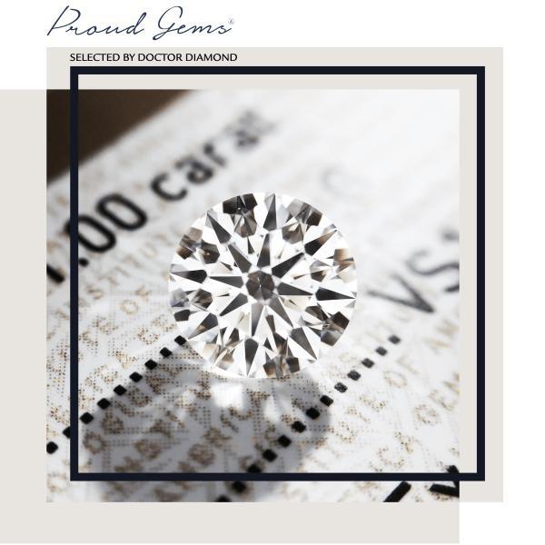 Proud Gems by Doctor Diamond แหวนเพชร แหวนหมั้น เพชรใบเซอร์ GIA