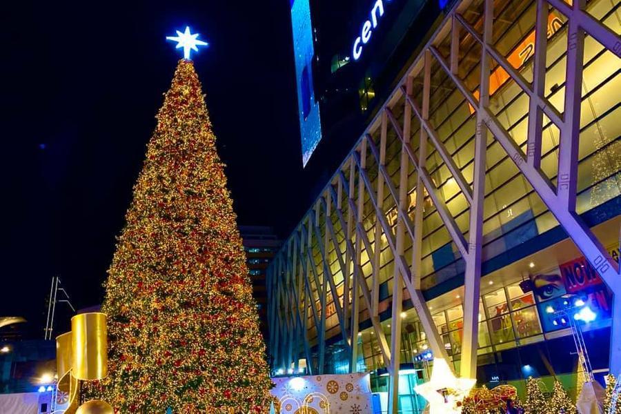 งานไฟคริสต์มาส หน้าลาน Central World