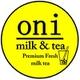 รูปภาพโลโก้ ของ Oni milk & tea