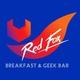รูปภาพโลโก้ ของ Red Fox Breakfast And Geek Bar