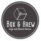 รูปภาพโลโก้ ของ Box and Brew Cafe and Board Games
