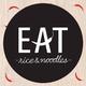 รูปภาพโลโก้ ของ EAT rice and noodles
